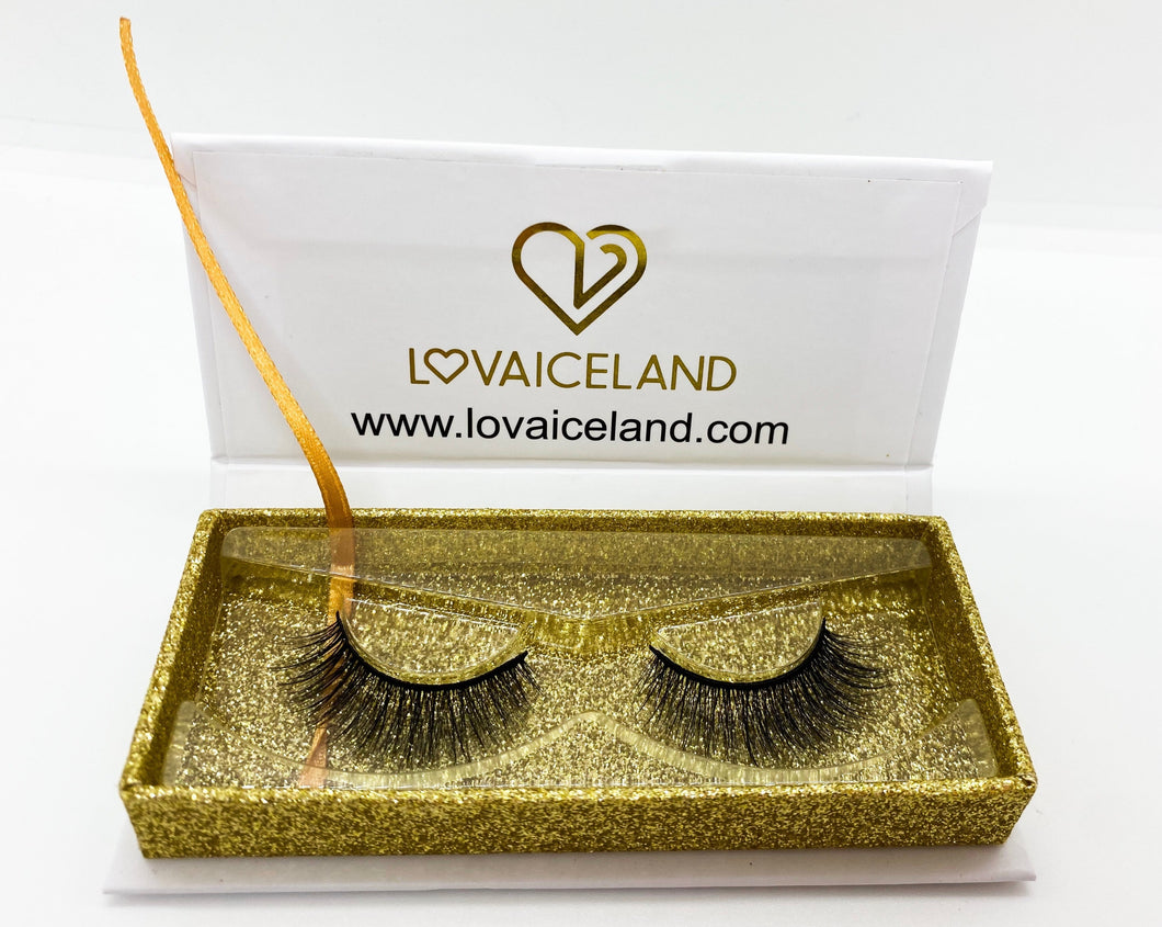 3D synthetic silk lashes - Sassy