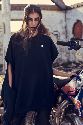 CUT OUT OVERSIZED SWEATER - Noah Christian