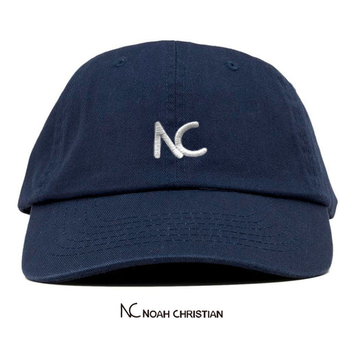 NC BLUE DAD CAP - Noah Christian