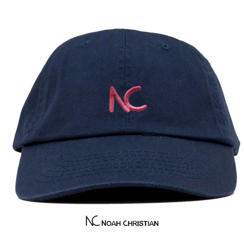 NC BLUE DAD CAP - Noah Christian Studio