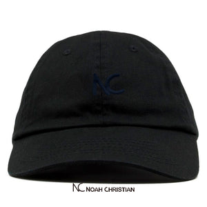 (NEW!) NC BLACK DAD CAP - Noah Christian