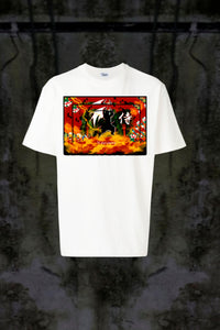 ASIAN ILLUSION - SAMURAI NATURE 2 T-SHIRT - Noah Christian Studio