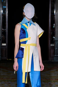 PHOBOS ASYMMETRIC COAT - Noah Christian