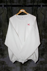 OVERSIZED SWEATER WITH EMBROIDERED LOGO (5 COLOURS) - Noah Christian Studio