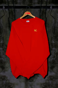 RED OVERSIZED SWEATER (OUTLET) - Noah Christian