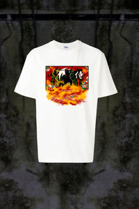 ASIAN ILLUSION - SAMURAI NATURE T-SHIRT - Noah Christian Studio