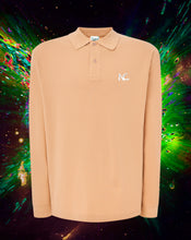 NC POLO LONG SLEEVE - SAND - Noah Christian