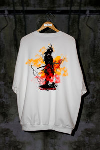 ASIAN ILLUSION - MYSTIC SAMURAI OVERSIZED SWEATER - Noah Christian Studio