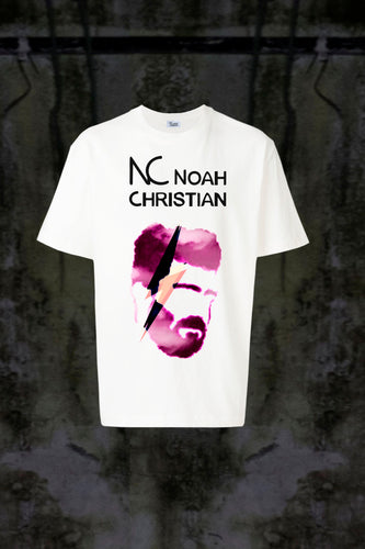 NC LILA FACE ⚡ T-SHIRT - Noah Christian Studio