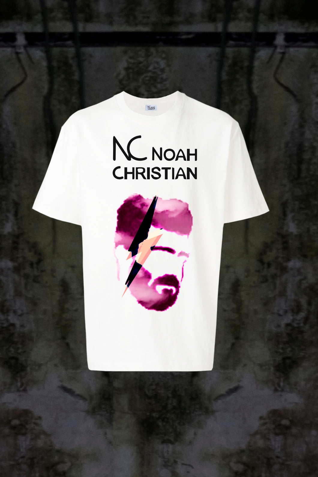 NC LILA FACE ⚡ T-SHIRT - Noah Christian