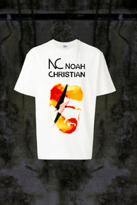 NC RED FACE ⚡ T-SHIRT - Noah Christian Studio