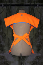 ORANGE OPEN BACK JUMPER PULLOVER WITHOUT SLEEVES - Noah Christian Studio