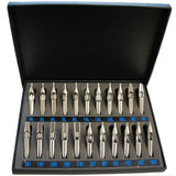 Hot Sale ! Brand New 22pcs mixed stainless steel tattoo nozzle tips for needles - Magic Beans Ink