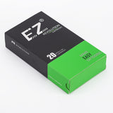 EZ Assorted New Revolution Tattoo Cartridge Needles  - 100pcs ( size 03RL, 07RL, 05RS, 09CM, 09M1 ) - Magic Beans Ink
