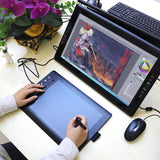 Gaomon M106K , digitize your art with professional 10 Inch graphic tablet with wireless pen - Magic Beans Ink