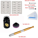 Microblading tattoo kit for permanent makeup - Magic Beans Ink