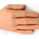 Synthetic silicone hands for tattoo practice , left and right hand included - Magic Beans Ink