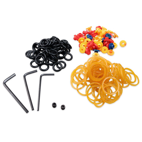 Tattoo Supplies Rubber O-Rings Grommet Nipple A-bar Bands - Magic Beans Ink