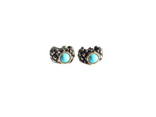 Load image into Gallery viewer, Turquoise Round Earrings
