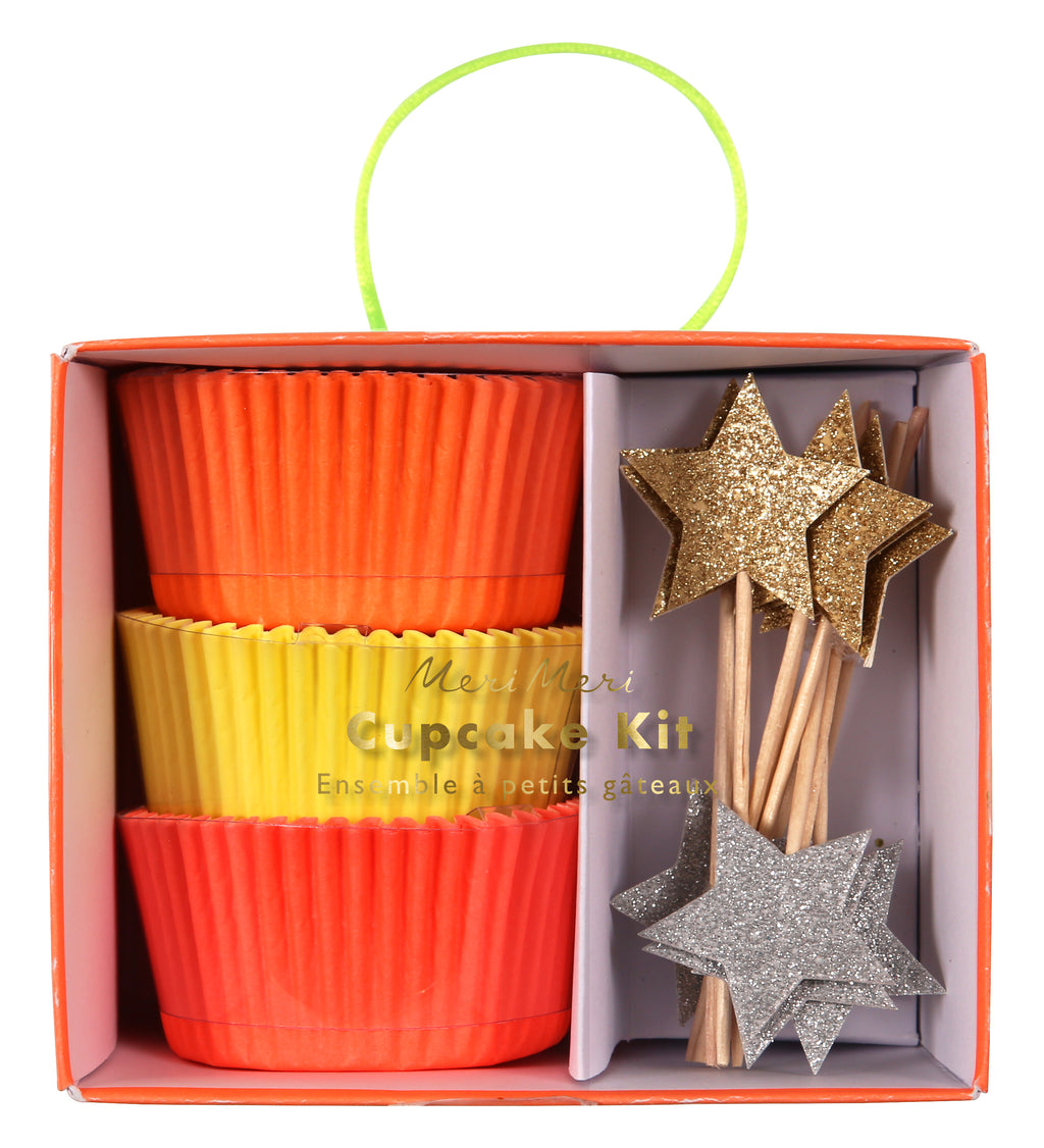 Sparkly Star Cupcake Kit