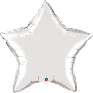 "36 ""Star Silver Balloon"