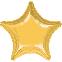 "19 "" Star Metallic Gold Foil Balloon"