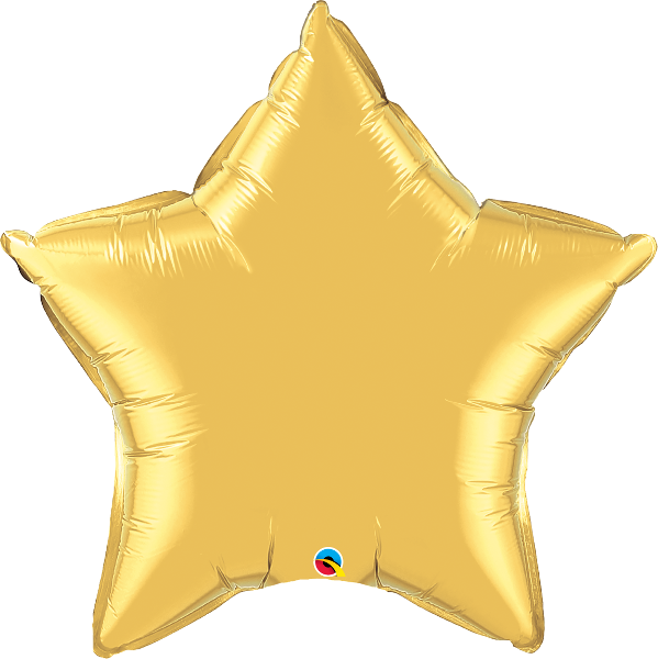 "36 "" Star Gold Balloon"