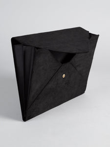 Suede Document Holder