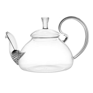 Elegant Glass Teapot