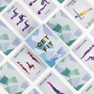 Get Fit - Fitness Cards