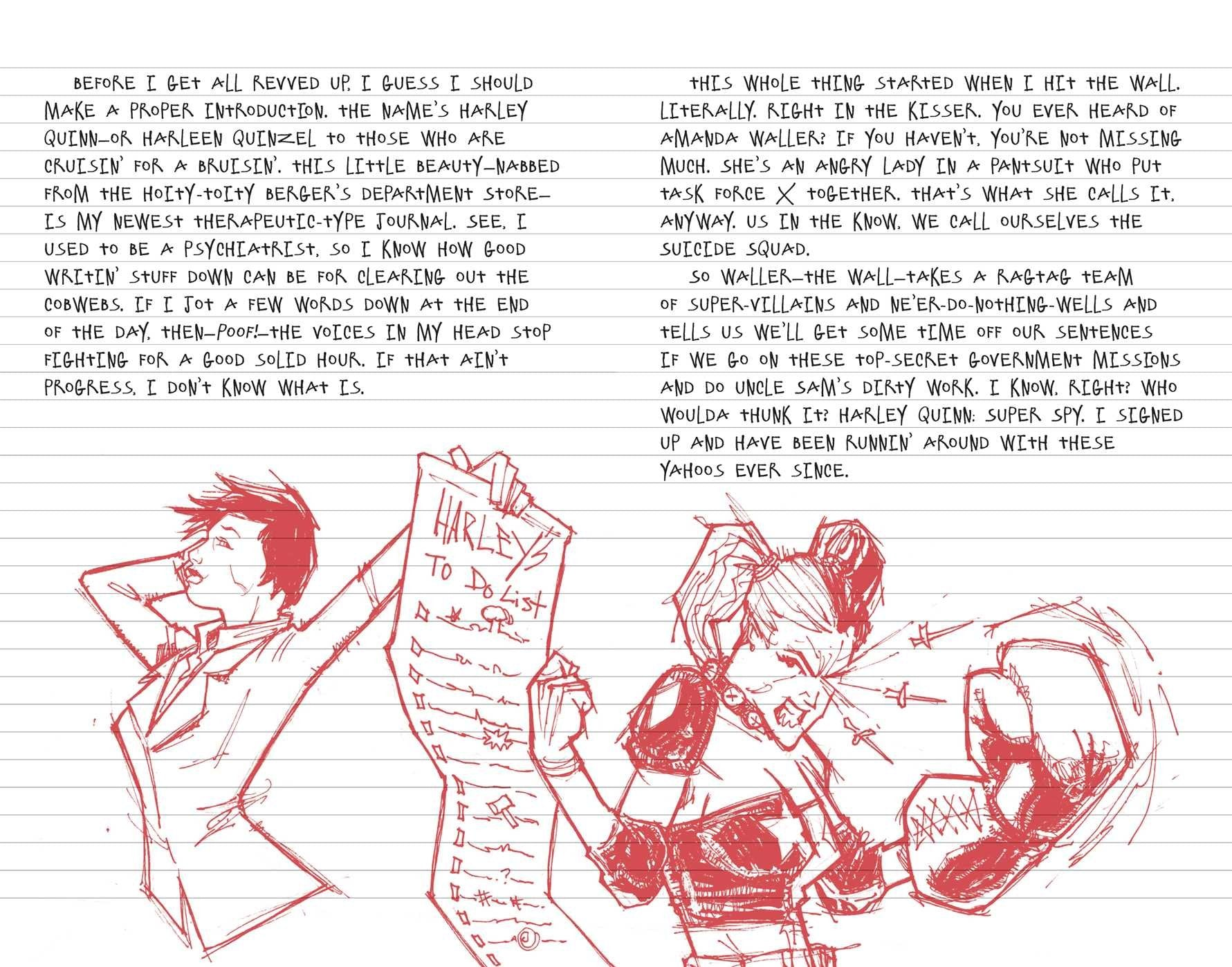Harley Quinn Journal