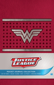 Justice League Pocket Journal Set (Set of 3)