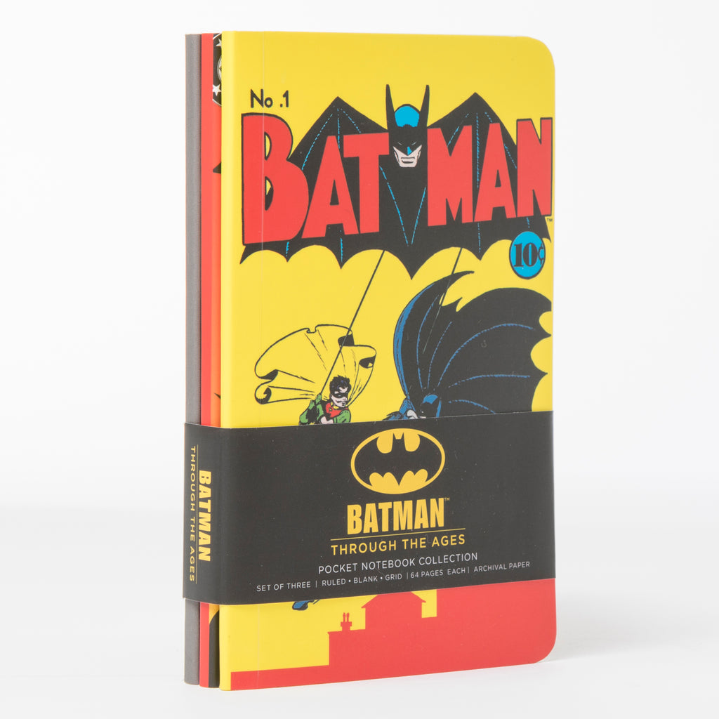 Batman Pocket Journal Set (Set of 3)
