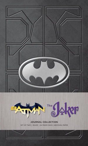 Batman & The Joker Journal Set (Set of 2)