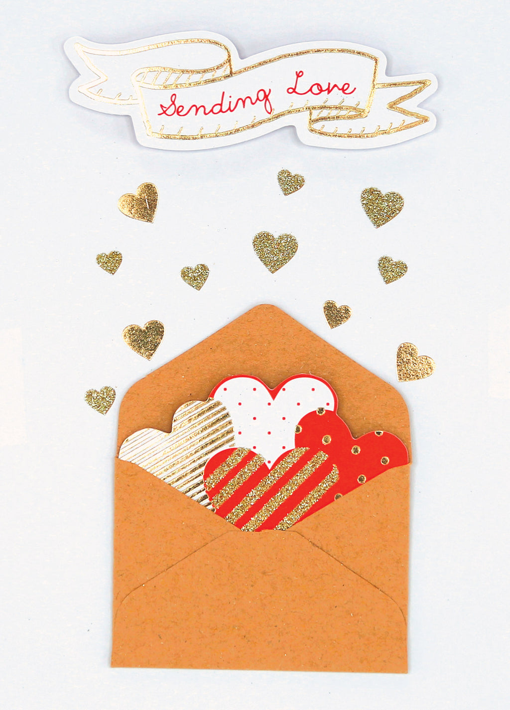 Love Note Greeting Card (Handmade)