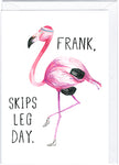 Fitness Frank Greeting Card