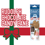 Milk Magic Straws- Rudolph Chocolate Candy Cane