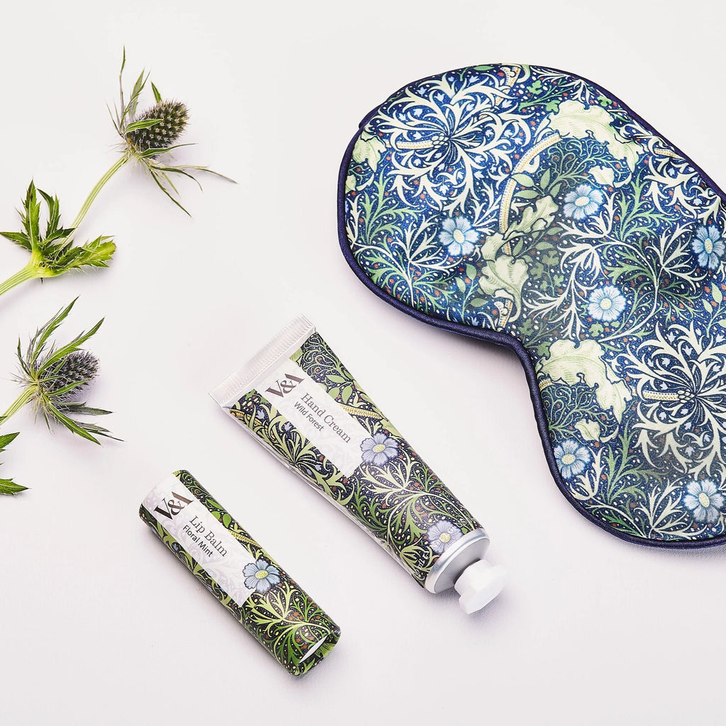V&A Seaweed Print Travel Set