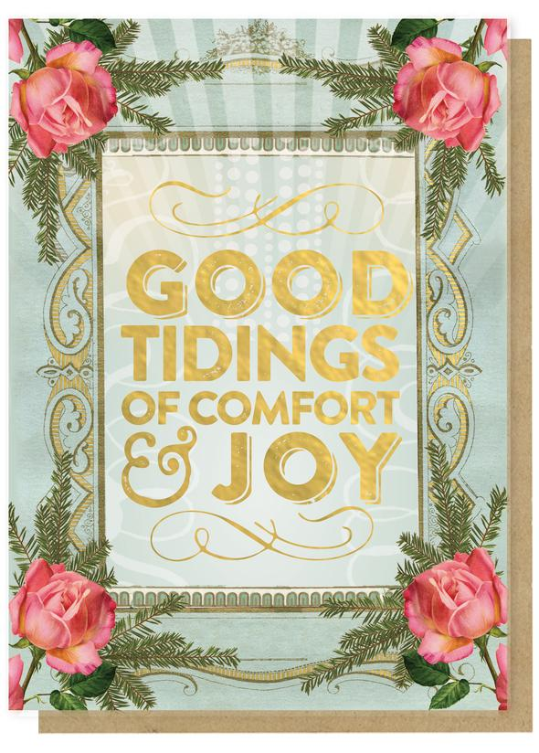 Good Tidings Holiday Greeting Card