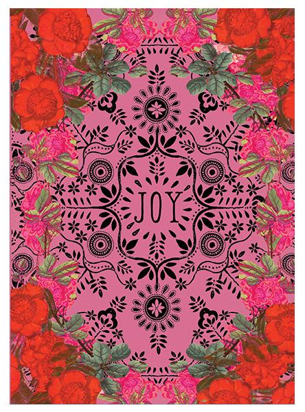Joy Holiday Greeting Card