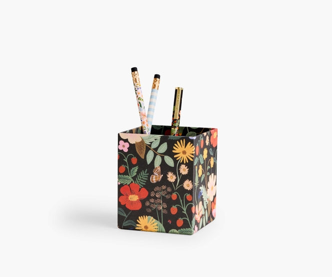 Strawberry Fields Pencil Cup