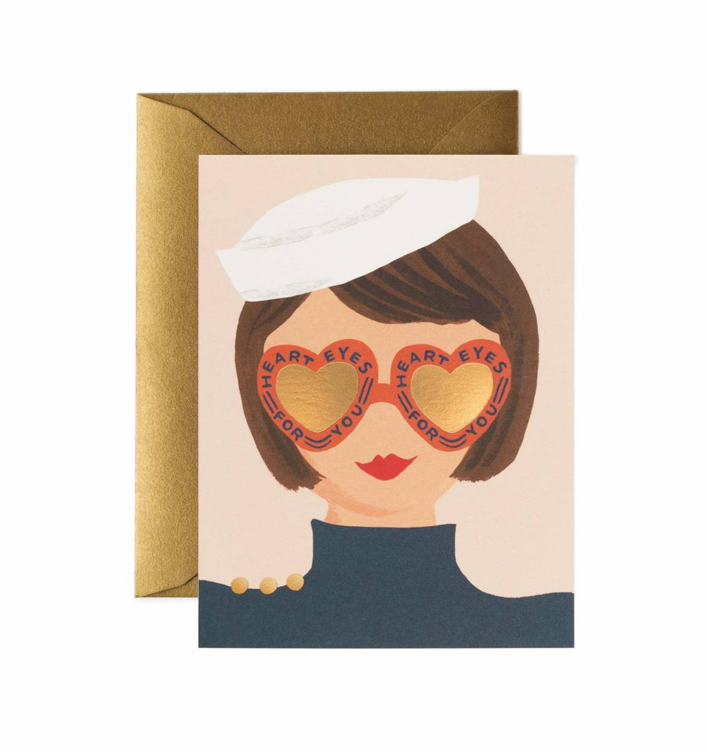 Love in Your Eyes Greeting Card