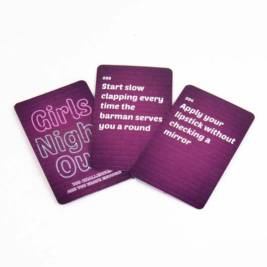 Girls Night Out Trivia Game