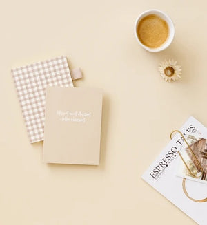 Gingham A6 Notebook