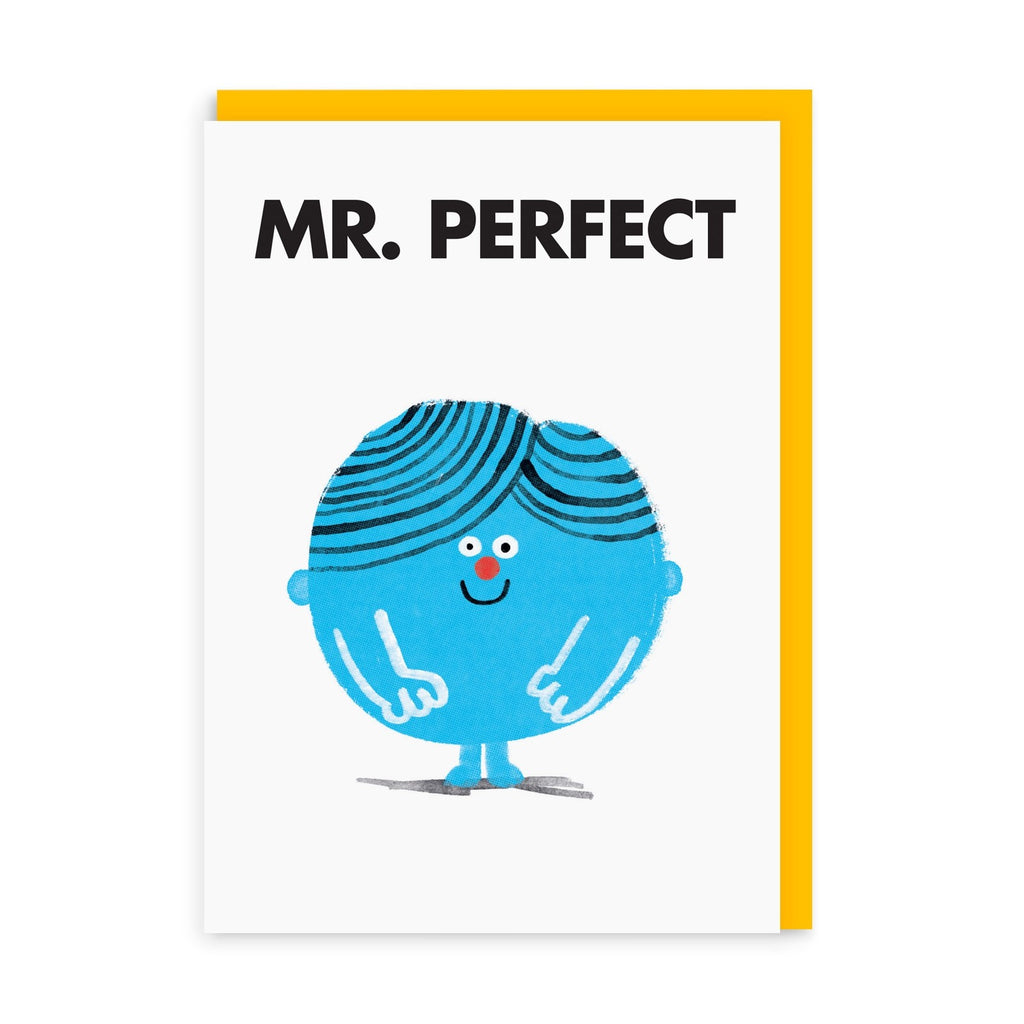 Mr. Perfect Greeting Card