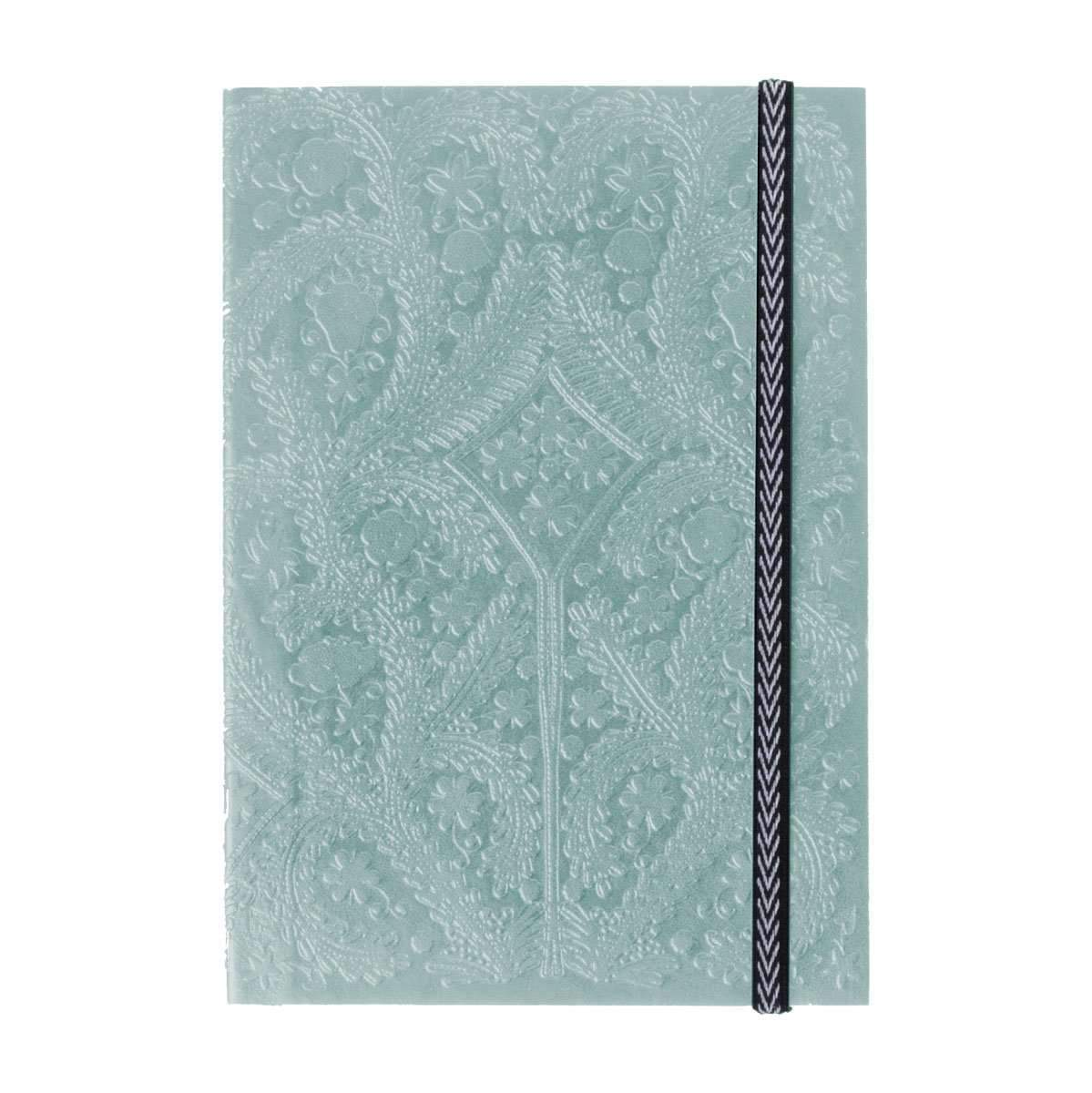 A6 Moon Silver Notebook By Christian Lacroix