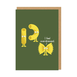 Special Guest Pasta Party Greeting Card