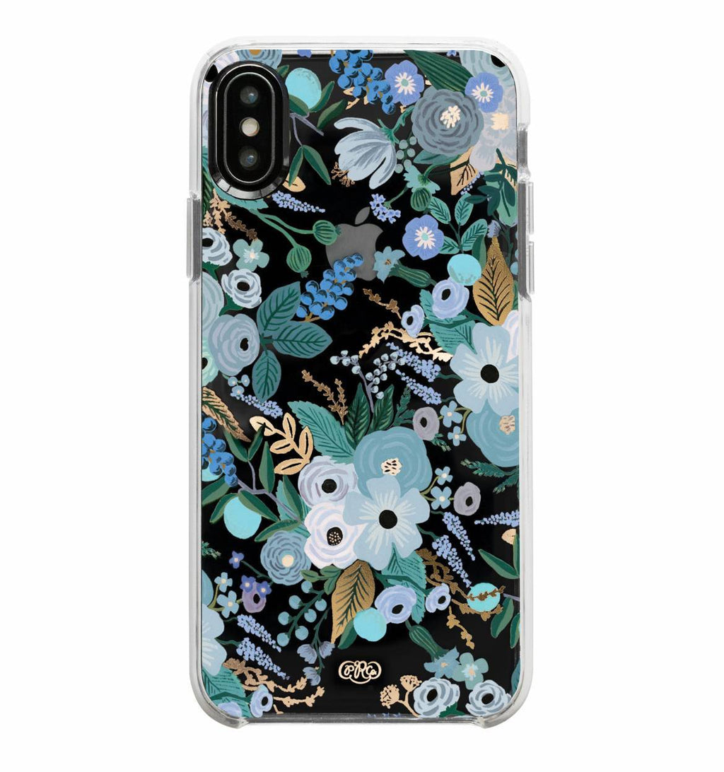 Garden Party Blue Phone Case (iPhone X & XS)