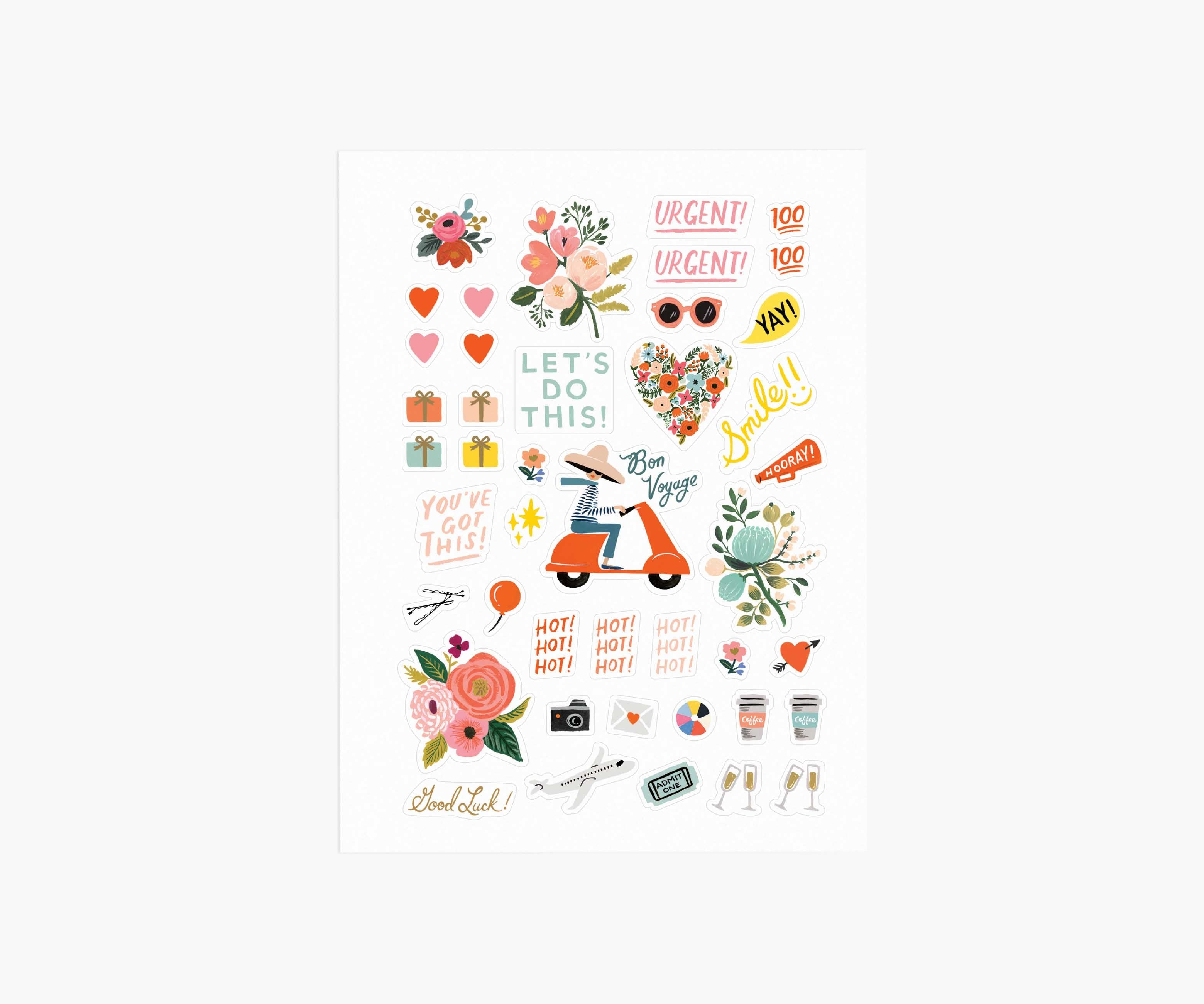 Rifle Paper Co. Sticker Sheets