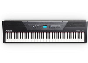 Alesis Recital PRO Digital Piano with 88 Hammer Action Keys 12 Voices